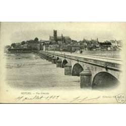 58 - NEVERS - VUE GENERALE - PONT