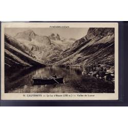 65 - Cauterets - le lac d' Essom - vallée de Lutour - Voyagé - Dos divisé