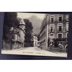 65 - Cauterets - les Hôtels - Non voyagé - Dos divisé