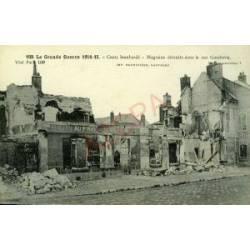 60 - CREIL BOMBARDE - MAGASINS DE LA RUE GAMBETTA