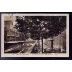 66 - Amélie-les-Bains - Allée de carcassonne et le Mondoni - Voyagé - Dos div