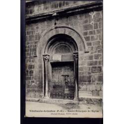 66 - Villefranche-de-Conflent - entrée principale de l' église - Non voyagé -