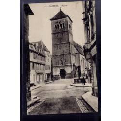 67 - Saverne - l' église - Non voyagé - Dos divisé