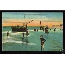 62 - Berck-Plage - Barques de peche au mouillage