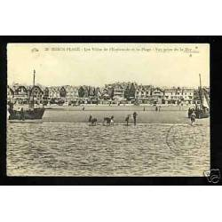 62 - Berck-Plage - Villas de l'Esplanade et la plage
