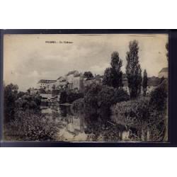 70 - Pesmes - Le château - Voyagé - Dos divisé