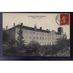 70 - Vesoul - Le lycée - Voyagé - Dos divisé
