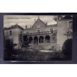 71 - Bonnay - Villa St-Agnès - Voyagé - Dos divisé