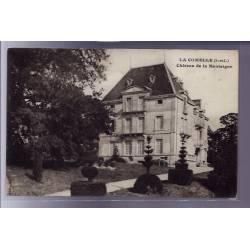 71 - La Comelle - Château de la Montaigne - Voyagé - Dos divisé
