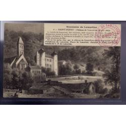 71 - Saint-Point - Château de Lamartine au XIXe siècle - Non voyagé - Dos div