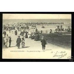62 - Boulogne sur Mer - Vue generale de la plage