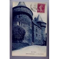 72 - Sillé-le-Guillaume - Le vieux château - Voyagé - Dos divisé