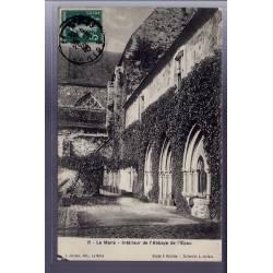 72 - Le Mans - Intérieur de l' Abbaye de l' Epau - Voyagé - Dos divisé