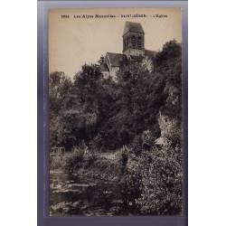 72 - Saint-Céneri - L' église - Non voyagé - Dos divisé