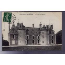 72 - Environs de Mamers - Château de Frébourg - Voyagé - Dos divisé