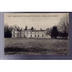72 - Beaumont-Pied-de-Boeuf - Château de la Couetterie - Voyagé - Dos divisé