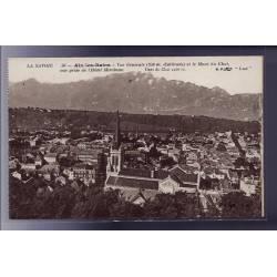 73 - Aix-les-Bains - Vue générale et le Mont du chat - vue prise de l' Hôtel