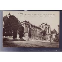 73 - Chambéry - le château des ducs de Savoie datant de 1232 - Berceau des Ro