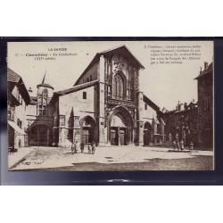 73 - Chambéry - La Cathédrale - Non voyagé - Dos divisé