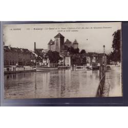 73 - Annecy - Le Canal et le vieux château-Fort des ducs de Génevois-Nemours
