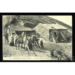 63 - Env. du Mont-Dore - La buvette du Puy de Sancy