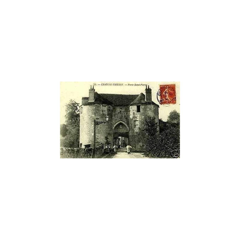 02 - Chateau-Thierry - La porte St- Pierre
