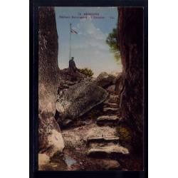 77 - Nemours - Rochers Beauregard - l'escalier - Voyagé - Dos divisé