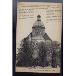 77 - Provins - Eglise et dôme de Saint-Quiriace - Non voyagé - Dos divisé