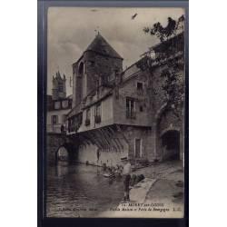 77 - Moret-sur-Loing - Vieille maison et porte de Bourgogne - Voyagé - Dos