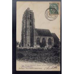 77 - May-en-Multien - Eglise - la Tour côté Sud - Voyagé - Dos non divisé