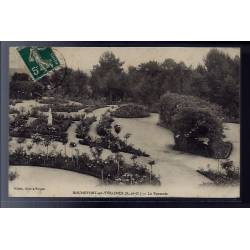 78 - Rochefort-en-Yvelines - la roseraie - Voyagé - Dos divisé