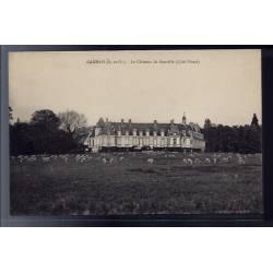 78 - Gambais - le château de Neuville côté Ouest - Non voyagé - Dos divisé