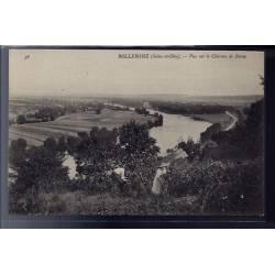 78 - Rolleboise - vue sur le château de Rosny - Non voyagé - Dos divisé