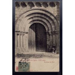 79 - Environs de Niort - Javarzay - Portail de l' église - XIIIe siècle - V