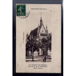 79 - Thouars - La chapelle du château des Ducs de la Trémoïlle XIVe siècle