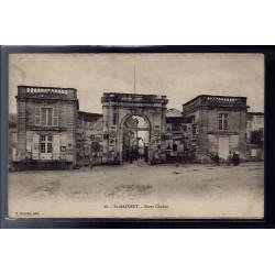 79 - St-Maixent - Porte Chalon - Voyagé - Dos divisé