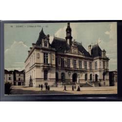 79 - Niort - L' Hôtel de Ville - Voyagé - Dos divisé