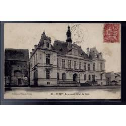 79 - Niort - le nouvel Hôtel de Ville - Voyagé - Dos divisé