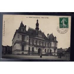 79 - Niort - Hôtel de Ville - Voyagé - Dos divisé
