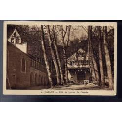 82 - Caylus - Notre-Dame de Livron - La chapelle - Voyagé - Dos divisé