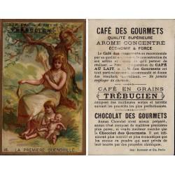 Chromo - Café des Gourmets Trebucien - La première Quenouille N° 16 -
