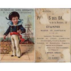Chromo - Au paradis des dames - Etampes - H. Lavant - Matelot - Rentro