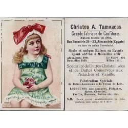 Chromo - Christo A. Tamvacos - Gde Fabrique de Confitures à Alexandrie