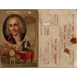 Chromo - Cacaos Compagnie Française - Bentham - Trace de colle - 10.5