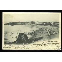 64 - Biarritz - Le phare et la grande plage