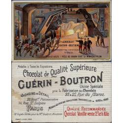 Chromo - Chocolat Guérin-Boutron - Les différentes industries - Fer et