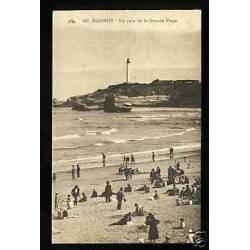 64 - Biarritz - Un coin de la grande plage