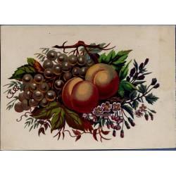 Chromo - Fleurs et fruits II - Bon état - 9 cm x 13 cm