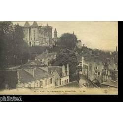 64 - Pau - Le Chateau et la basse ville