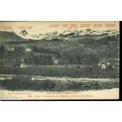 64 - Pau - Le Gave et les Pyrenees